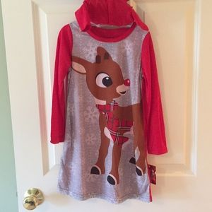 Rudolph nightgown